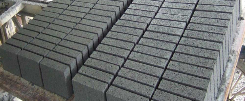 concrete blocks factory